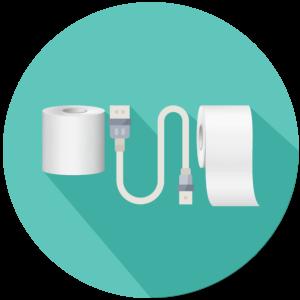 POS Zubehör und Verbrauchsmaterial